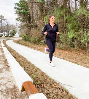 Madison Holton, a native of Muscatine, Iowa, has been a Bridge Run regular since moving to the area in 2016 and will do so this year on the sidewalks of Tent Woods.