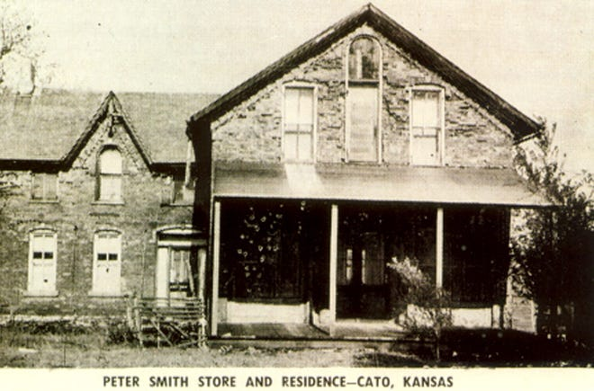 Peter Smith Store and Residence, Cato, Kansas