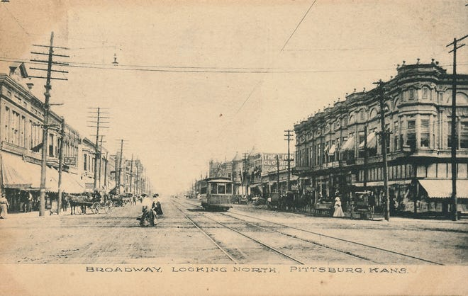 Photo circa 1910, courtesy of Pittsburg, Kansas Memories.