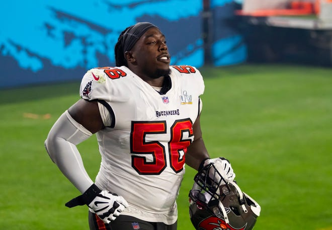 The Patriots have shown interest in defensive tackle Rakeem Nuñez-Roches, who won a Super Bowl with the Buccaneers.
