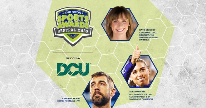 Three-time NFL MVP Aaron Rodgers, two-time FIFA World Cup Champion Alex Morgan and five-time Olympic gold medalist Katie Ledecky will be among a highly decorated group of presenters and guests in the Central MassHigh School Sports Awards premiering this summer on USA TODAY streaming platforms and channels.