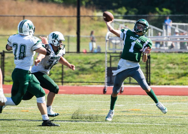 Tyler Dimond is entering his third season as Grafton's starting quarterback.