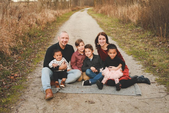 Pure Gift of God recently announced Amanda and Larry Yoder as the nonprofit's co-executive directors. Pictured: Larry and Amanda Yoder with their family.