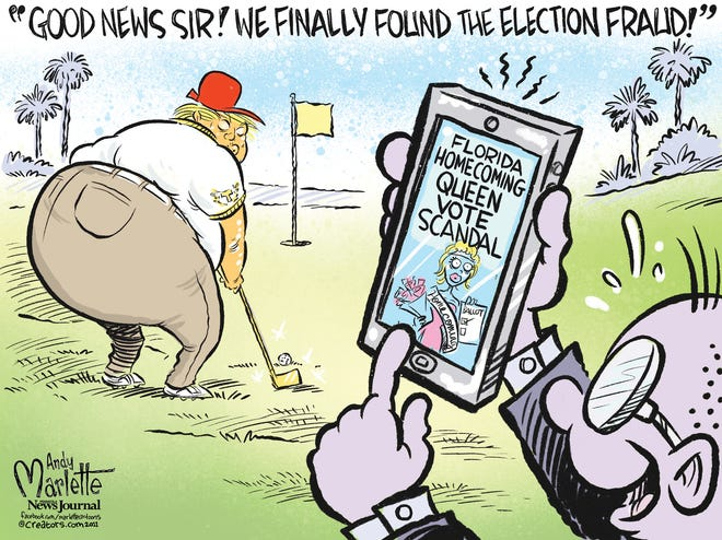 Election fraud finally found