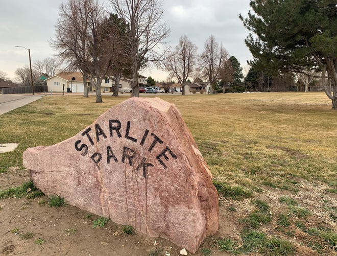 "Starlite Park at the corner of Starlite Drive and Surfwood Lane may soon be known as ""Laura's Park,"" honoring an FBI agent from Pueblo who was killed in February."
