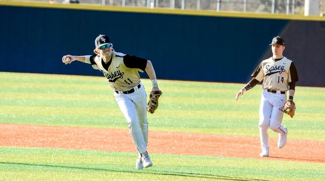 Sipsey Valley's Jack Beck makes a throw.
