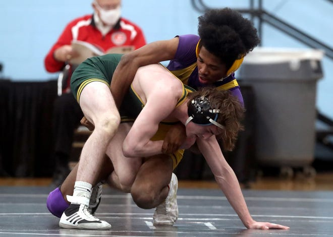 Reynoldsburg senior Michael Dawkins closed his prep career by competing in the Division I state tournament March 13 and 14 at Hilliard Darby. He went 1-2 at 132 pounds.
