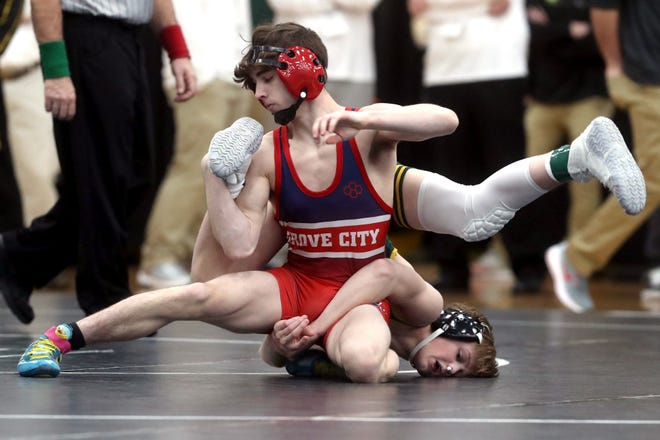 Grove City's Braxton Sheets went 1-2 in the Division I state tournament, which was held March 13 and 14 at Hilliard Darby. Sheets, a sophomore, finished the season 28-6.