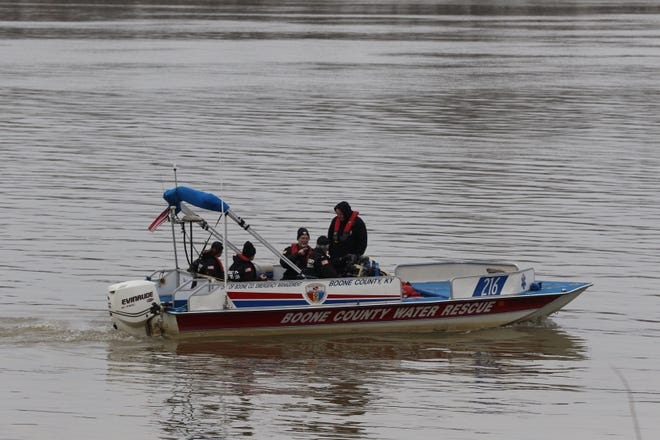 Members of the Boone County Water Rescue team have been on the Ohio River searching for the bodies of Nylo Lattimore, 3, of Cincinnati, and James Hutchinson, 6, of Middletown. The children were killed in separate incidents.