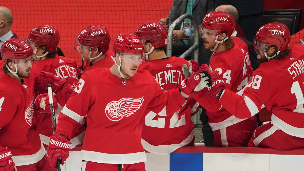 Red Wings show progress in 4-2 victory over Hurricanes 2