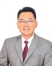 Palisades Park Mayor Chris Chung