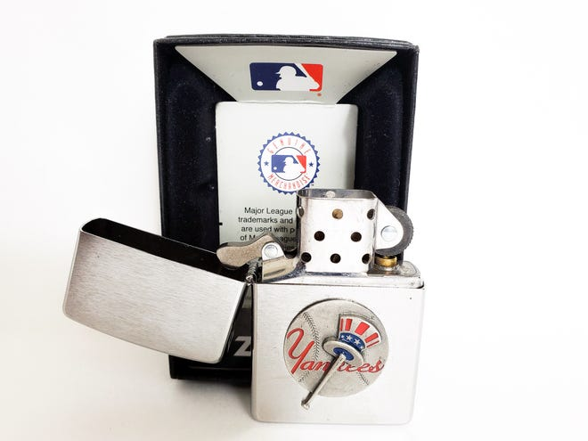Zippo lighters with obsolete team logos are very collectible.