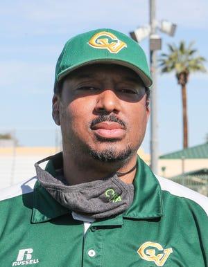 Coachella Valley Head Coach Bill Johnson.