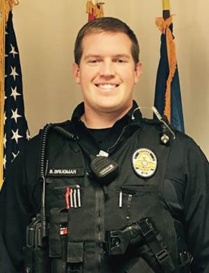 Apache Junction police officer Brian Brugman