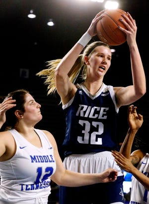 ASU women's basketball will face Rice and 6-9 center Nancy Mulkey in the WNIT first round Friday.