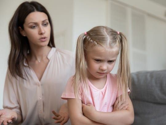 Being unpopular with your children when they are upset can lead to lessons in parenting.