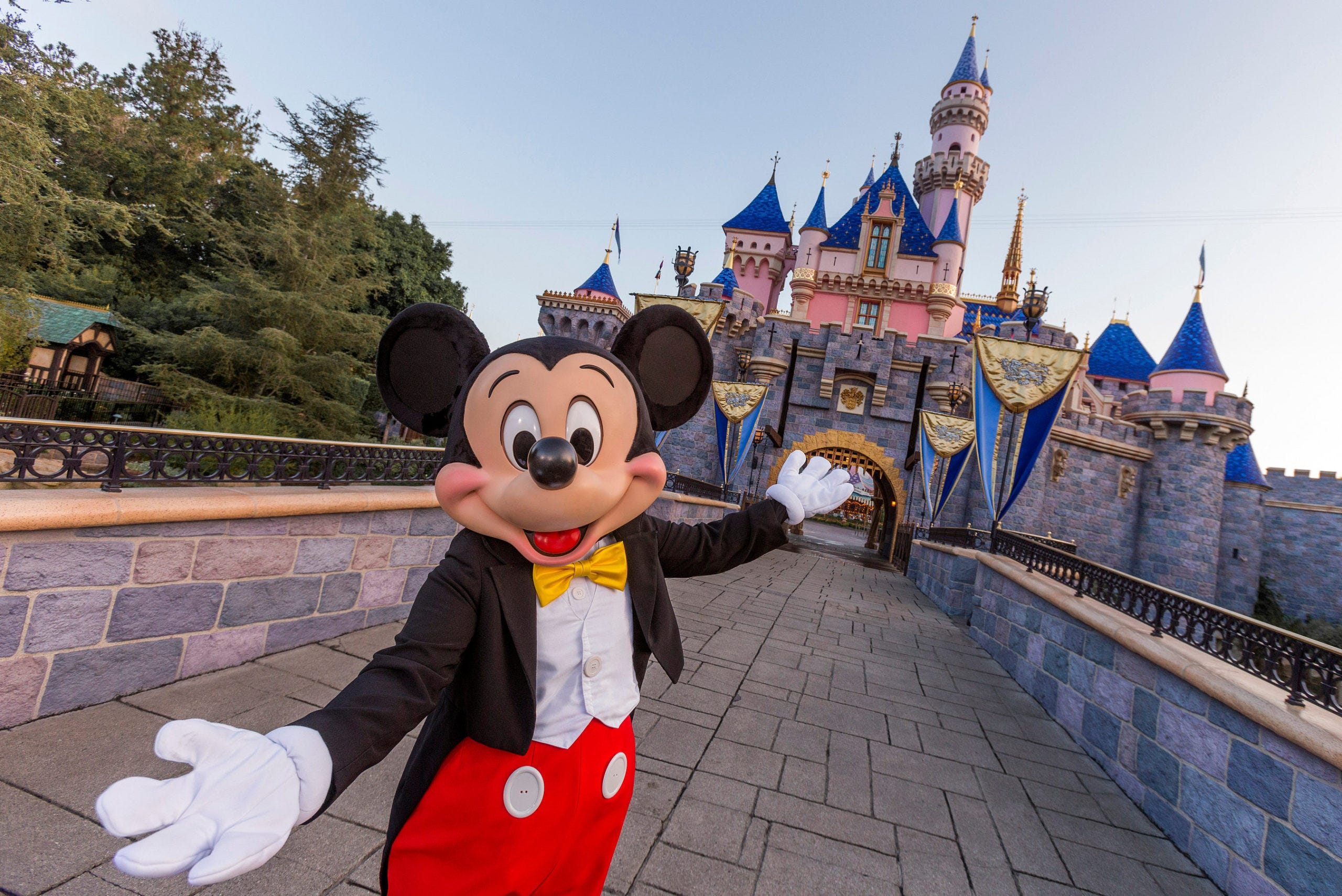 'We have waited so long for this': Disneyland reopens after 412 days