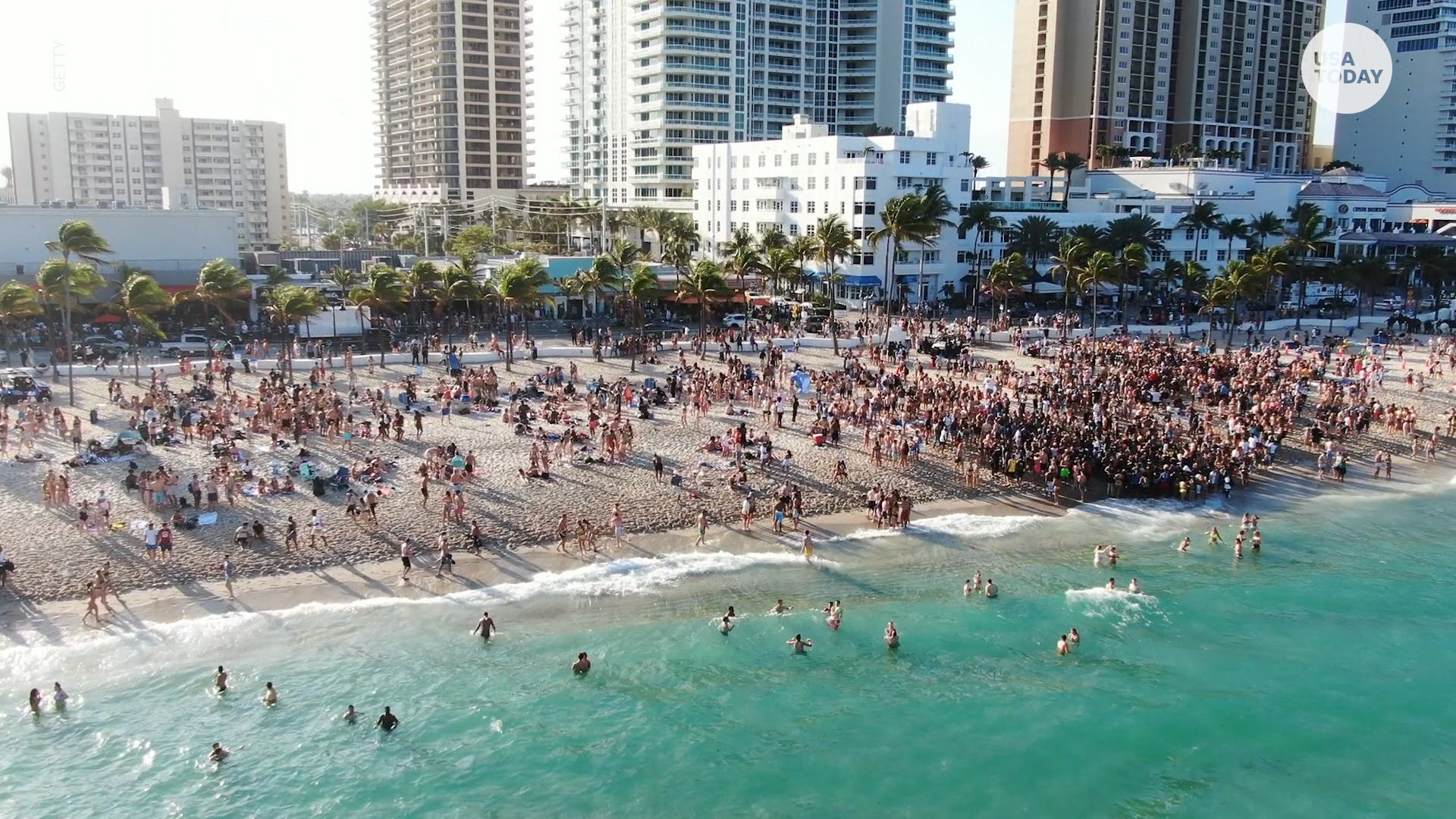 Destinations ditch CDC guidelines for beaches