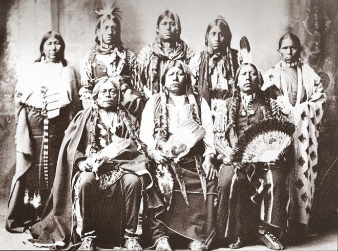 The Tonkawas lives up and down the edge of the Balcones Escarpment from Mexico to North Texas. Although generally peaceful and often allied with Anglo-American settlers, they, too, were expelled from Texas to a reservation in what is now Oklahoma.