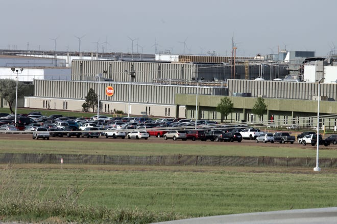 Tyson Foods Meat Plant