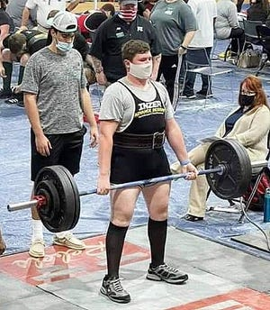 Rosepine lifter Blaine Savoy will be one of four Eagles competing in Monroe this weekend at the state powerlifting championships at Fant Ewing Coliseum on the campus of the University of Louisiana-Monroe.