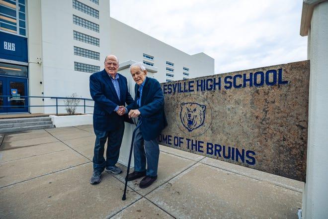 Civic leadersMartin Garber and Ginger Griffin helped establish Bartlesville Education Promise.