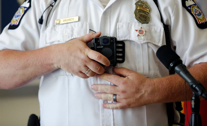Columbus police started using Panasonic police body cameras in 2016. The division is upgrading its body camera technology this year.
