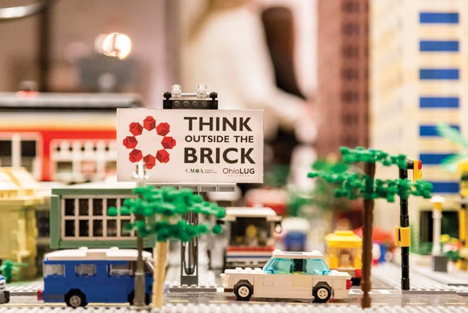 """""""Think Outside the Brick: The Creative Art of LEGO"""" returns to the Columbus Museum of Art in April."""