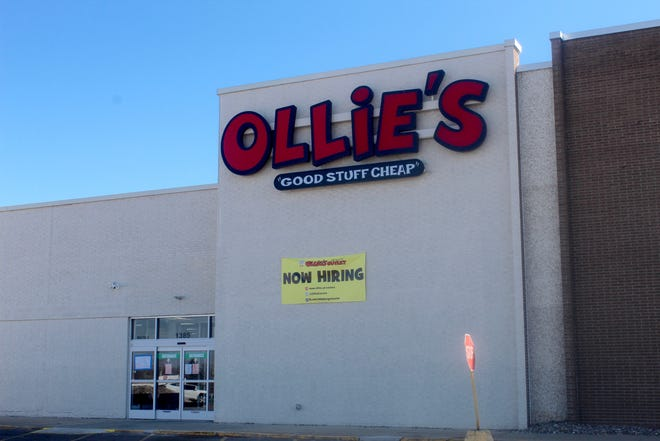 Ollie's Bargain Outlet, 1385 S. Main St., Adrian, is pictured on March 3. The discount retailer is expected to open at 9 a.m. on March 24, inside the former Sears building next to the Adrian Mall.