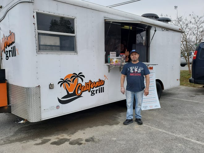 Jamie Lopez of Lexington has opened California Grill food trailer in Welcome serving Mexican food made with his family and cook Cele Bences' family recipes. Lopez opened The Lexington Bakery on South Main Street in Lexington about six years ago.