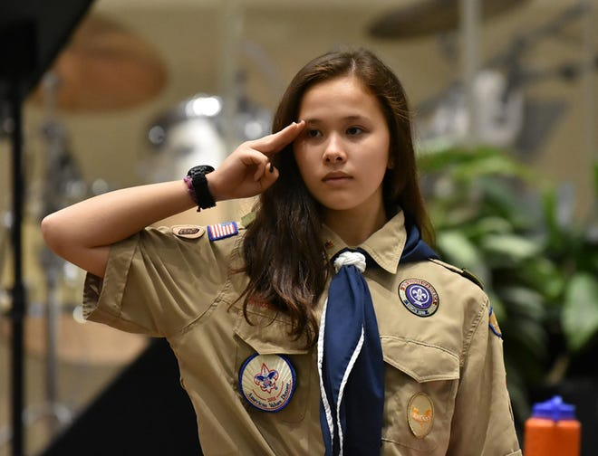 Admitting girls, including Marina Mitchell, was one of many changes during the first century of the Boy Scouts of America's North Florida Council. Mitchell is one of the council's first 13 female Eagle Scouts.