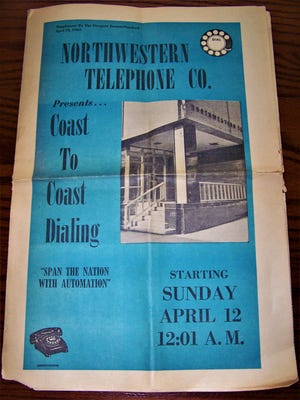 Northwestern Telephone Co. flyer.