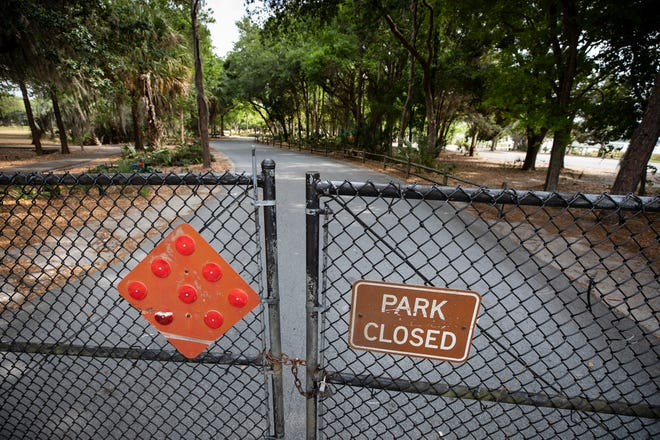 The City of Lakeland closed parks in late March to avoid large gatherings. The city loosened restrictions on March 30, but reversed course two days later when Gov. Ron DeSantis issued his statewide safer-at-home order. All parks were then shut down.