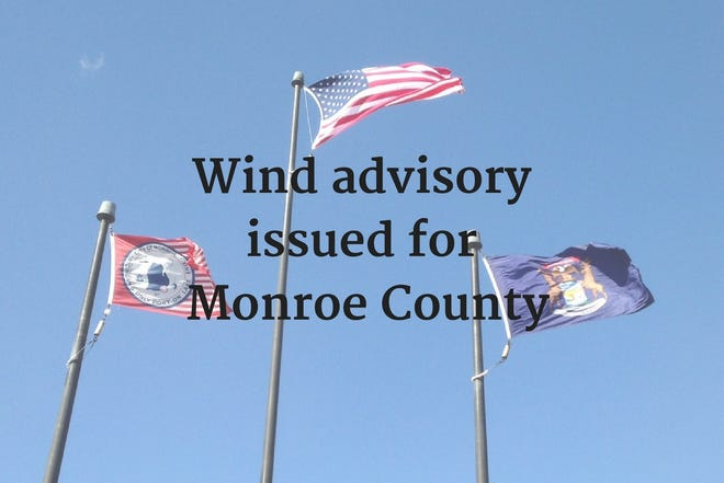 Wind advisory issued for Monroe County