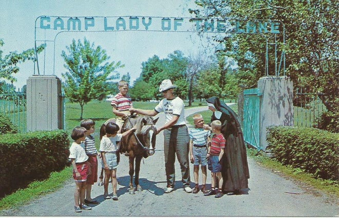 Camp Lady of the Lake was a place for orphaned children that opened in 1940 along the Lake Erie coastline near the Ohio border.