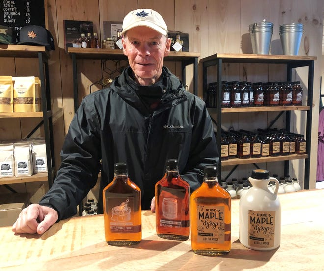 COVID-19 has forced maple producers like Joe Hurley of Kettle Ridge Farm in Victor to adapt in order to sell sweet syrups.