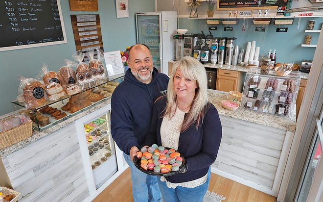 Michael and Jess Anderson own Farmhouse Baking Co., in South Weymouth.