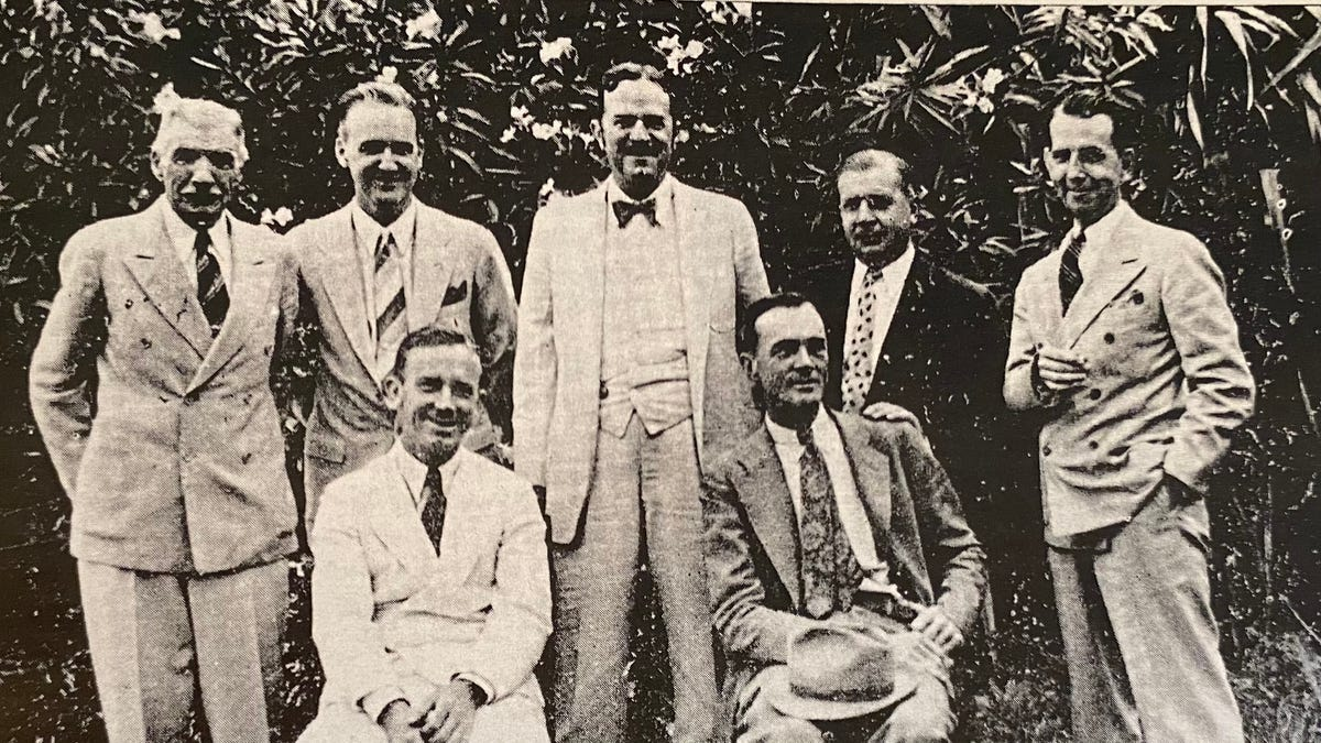 TIME CAPSULE 1936: Town pride in the early days