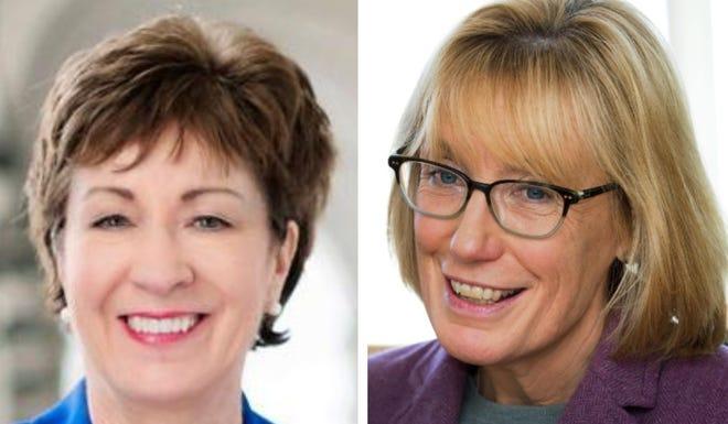 U.S. Sens. Susan Collins and Maggie Hassan