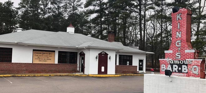 King's Famous Barbecue in Petersburg, Va. on March 17, 2021.