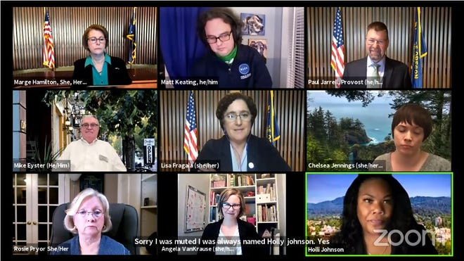 Lane Community College Board of Education meets virtually on Wednesday, March 17.