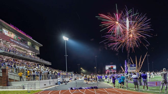 The Tarleton Athletic Department and Tarleton Alumni Association are providing a postgame fireworks show for fans at the conclusion of Saturday's Homecoming football game.