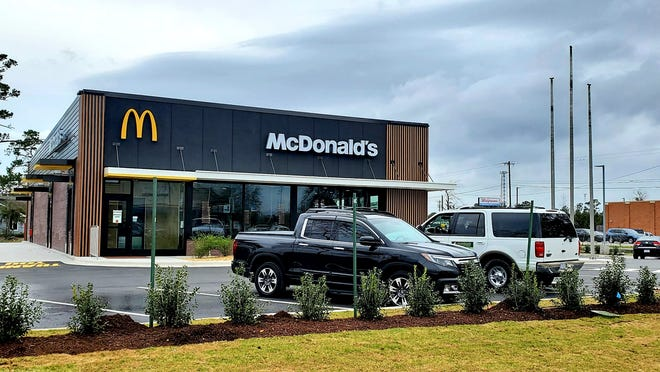 A ribbon cutting will take place at the Ogden McDonald's at 10 a.m. on Monday.