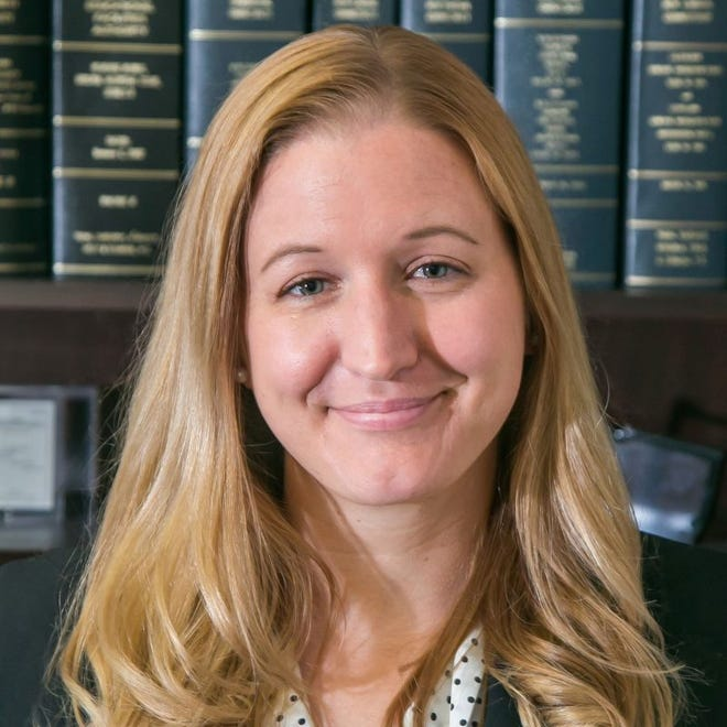 Waterford native Emily Casey was recently named partner at the New London-based law firm of Tobin, Carberry, O'Malley, Riley and Selinger.