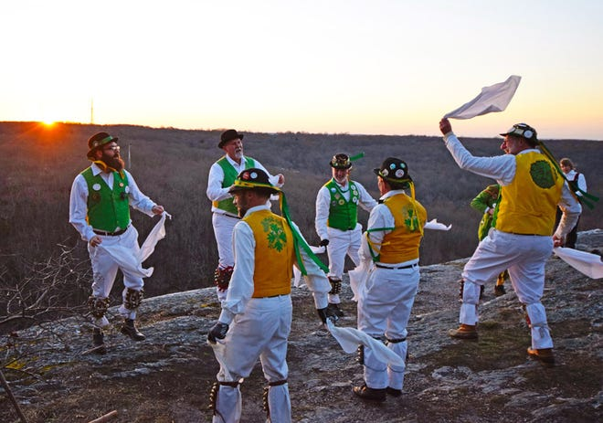 The Westerly Morris Men and followers will host a celebration of the vernal equinox — the first day of Spring — with dance, music and song at 6:15 a.m. March 20 at the base of Lantern Hill in Ledyard.