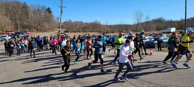 The Freeport 5-Miler took place on March 14.