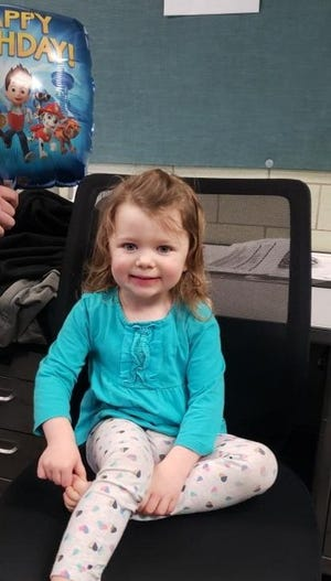 Cincinnati police are searching for the parents of a 2-year-old girl who was found along in Over-the-Rhine.
