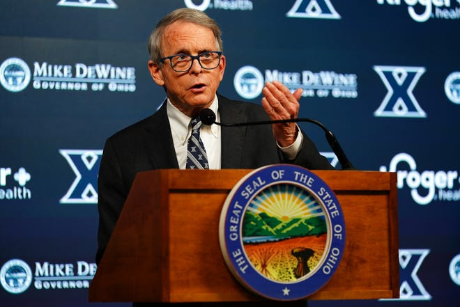 Ohio Gov. Mike DeWine announced late Friday that COVID-19 vaccine providers should begin administering the Johnson & Johnson vaccine following guidance from federal officials.