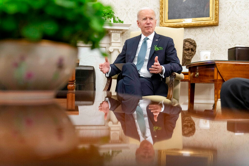 Biden says U.S. to hit 100 million virus shots on Friday 2