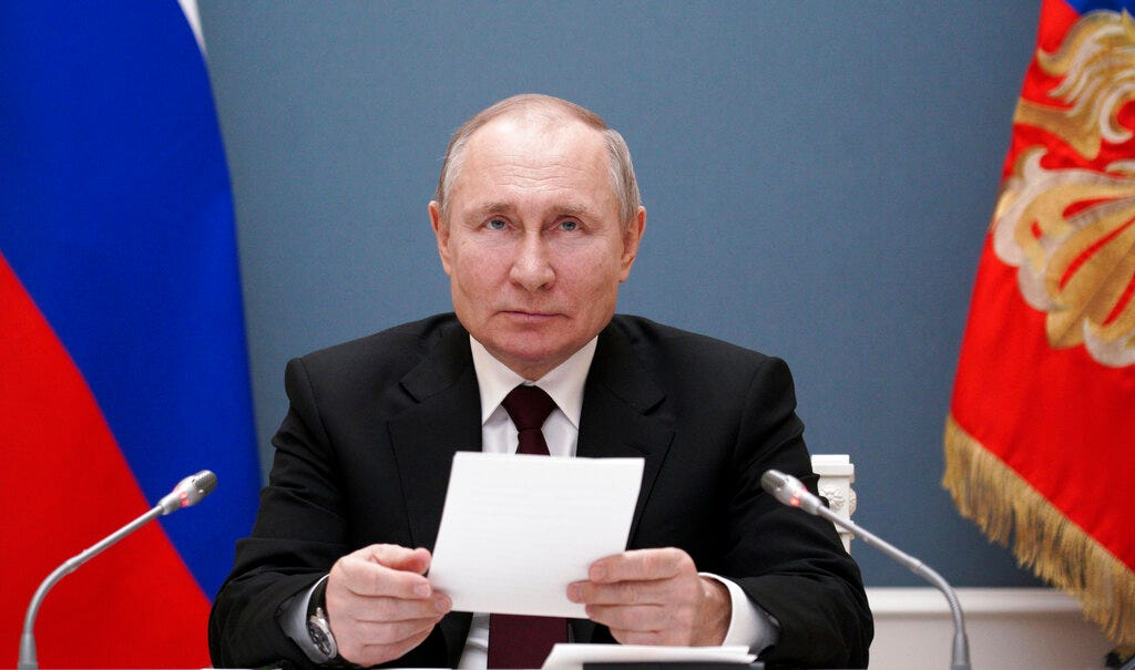 Putin points finger at US after Biden's 'killer' remark 2